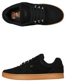 BLACK GUM MENS FOOTWEAR ETNIES SKATE SHOES - 4101000484964