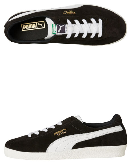 BLACK WHITE MENS FOOTWEAR PUMA SNEAKERS - 36667901BLKW