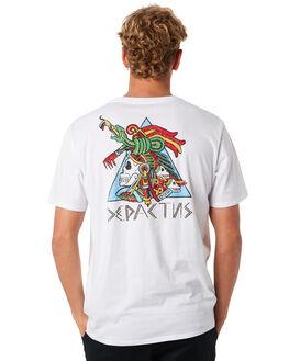 WHITE MENS CLOTHING DEPACTUS TEES - D5202011WHITE