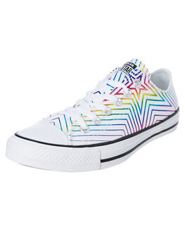 WHITE BLACK WOMENS FOOTWEAR CONVERSE SNEAKERS - 565440CWHTB