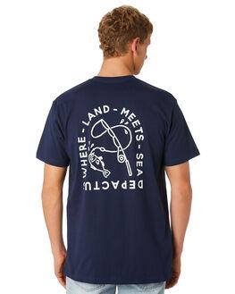 NAVY MENS CLOTHING DEPACTUS TEES - D5201006NAVY