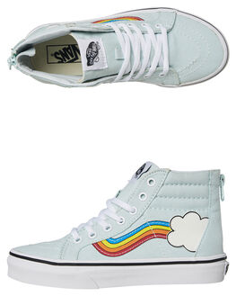 RAINBOW SIDESTRIPE KIDS GIRLS VANS SNEAKERS - VNA3276U4KMULTI