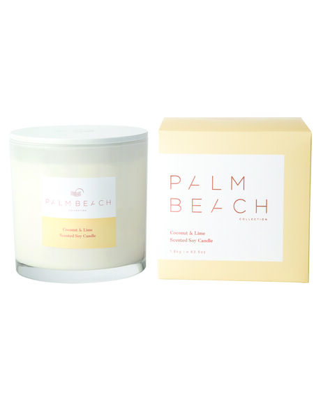 COCONUT AND LIME WOMENS ACCESSORIES PALM BEACH COLLECTION HOME + BODY - DCXCLWNAT