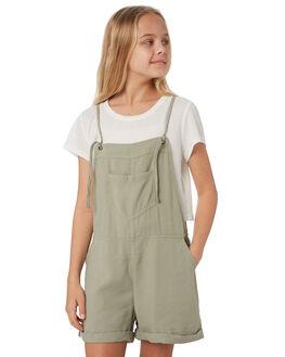 KHAKI KIDS GIRLS EVES SISTER DRESSES + PLAYSUITS - 9541013KHAK