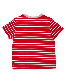 RED KIDS BOYS ROOKIE BY THE ACADEMY BRAND TOPS - R19W413RED
