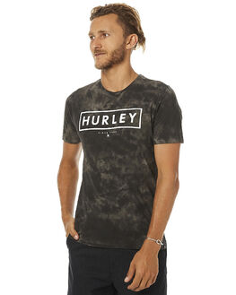 BLACK DRIP MENS CLOTHING HURLEY TEES - AMTSOODD
