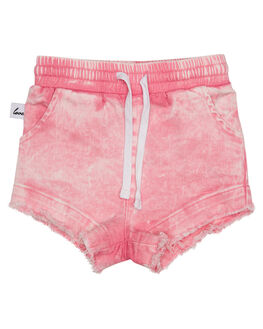 GLOW KIDS TODDLER GIRLS KISSED BY RADICOOL SHORTS - KR0822GLW
