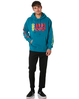 DUSTY FRESH TEAL MENS CLOTHING OBEY JUMPERS - 112651906FTL