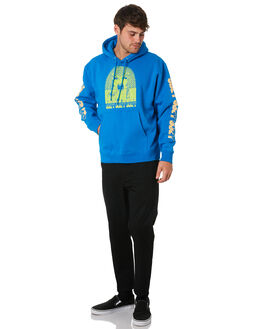 SKY AZURE MENS CLOTHING OBEY JUMPERS - 112841900SKY