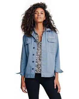 STONE WASH WOMENS CLOTHING QUIKSILVER JACKETS - EQWJK03001-BKJ0