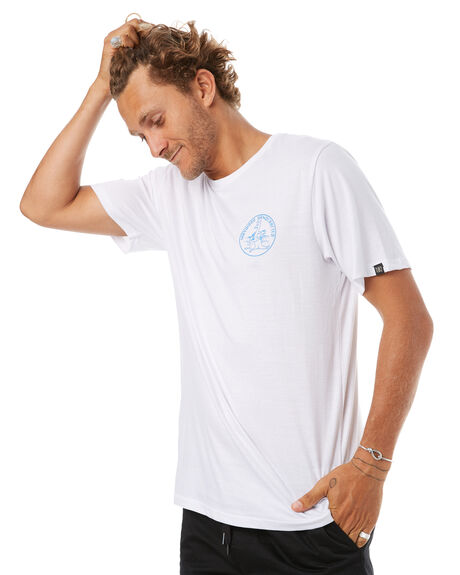 WHITE MENS CLOTHING MAYWOOD TEES - MTE707WHT