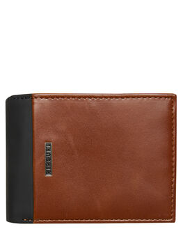 BLACK BROWN MENS ACCESSORIES RIP CURL WALLETS - BWULD18266