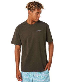 LOGWOOD BROWN MENS CLOTHING PATAGONIA TEES - 39174LDBR
