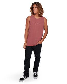 ROSE DUST MENS CLOTHING BILLABONG SINGLETS - BB-9591501-RDU