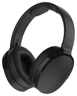BLACK BLACK MENS ACCESSORIES SKULLCANDY AUDIO + CAMERAS - S6HTW-K033BLK