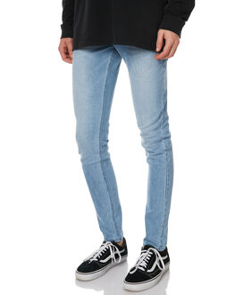 SEA BLUE MENS CLOTHING ASSEMBLY JEANS - AND-1580SEA