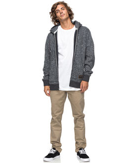 DARK GREY HEATHER MENS CLOTHING QUIKSILVER JUMPERS - EQYFT03771KRPH