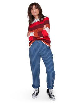NAVY WOMENS CLOTHING ELEMENT PANTS - EL-207264-NVY