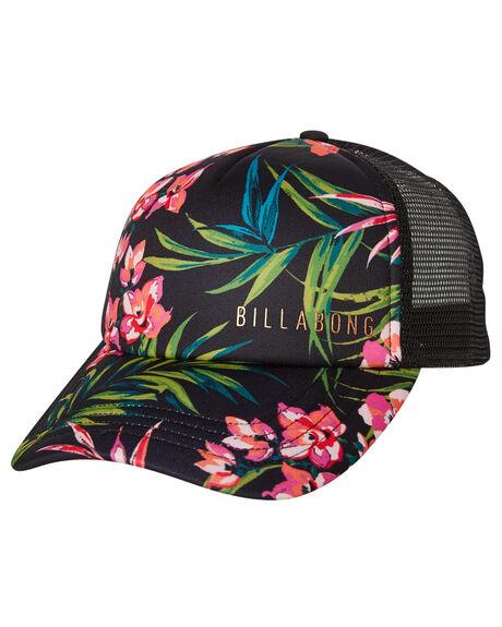 BLACK WOMENS ACCESSORIES BILLABONG HEADWEAR - 6681307BBLK