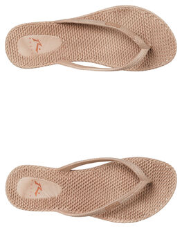 NUDE WOMENS FOOTWEAR RUSTY THONGS - FOL0317NUD
