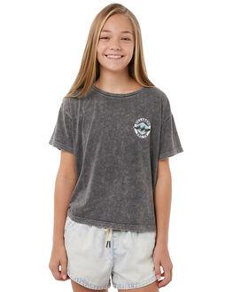 OFF BLACK KIDS GIRLS BILLABONG TEES - 5585001BLK