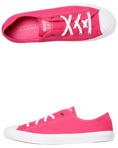 PRIME PINK OUTLET WOMENS CONVERSE SNEAKERS - 566149CPPINK