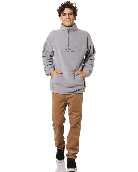 FROST GREY MENS CLOTHING RUSTY JUMPERS - FTM0883FGR