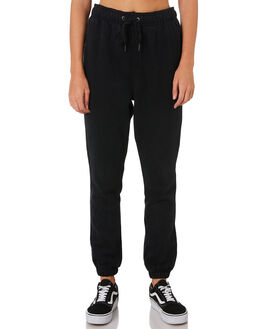 BLACK WOMENS CLOTHING RUSTY PANTS - PAL1101BLK