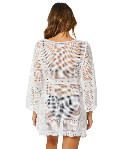 WHITE WOMENS CLOTHING SNDYS DRESSES - SED116WHT