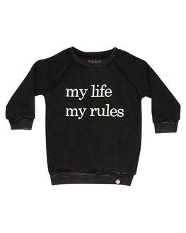 ACID BLACK KIDS BOYS LITTLE LORDS JUMPERS + JACKETS - AW19334ABLK
