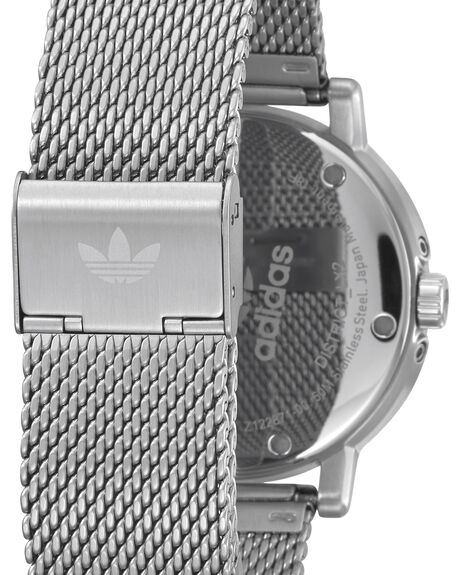 SILVER WHITE GREEN MENS ACCESSORIES ADIDAS WATCHES - Z22-3244