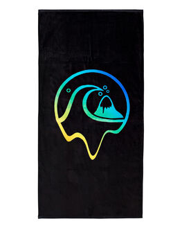 BLACK BOARDSPORTS SURF QUIKSILVER TOWELS - EQYAA03851-KVD0