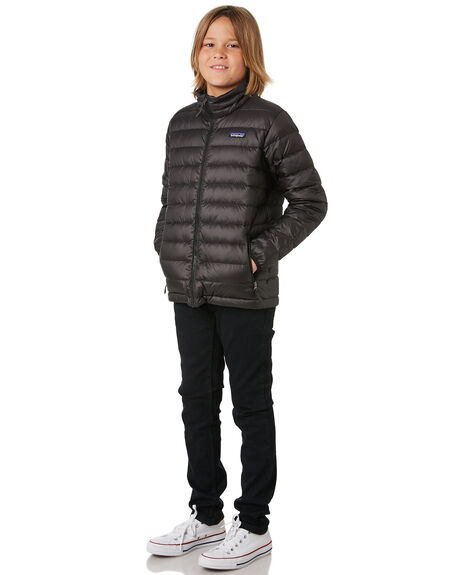 BLACK KIDS BOYS PATAGONIA JUMPERS + JACKETS - 68245BLK