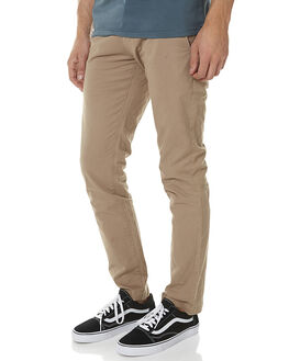 BEIGE MENS CLOTHING VOLCOM PANTS - A1131601BGE