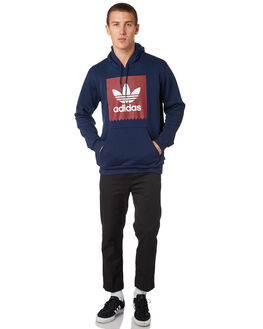 COLLEGIATE NAVY MENS CLOTHING ADIDAS JUMPERS - DH3877CNVY