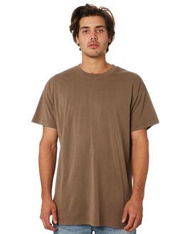 DUSTY BROWN MENS CLOTHING BILLABONG TEES - 9572051DSBRN