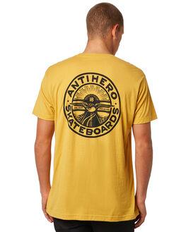 MUSTARD MENS CLOTHING ANTI HERO TEES - 51020286CMUST