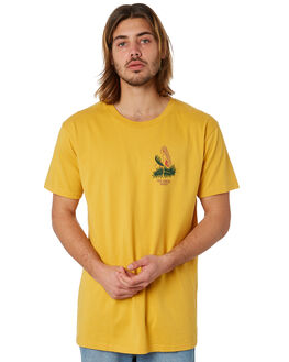 MUSTARD MENS CLOTHING THE LOBSTER SHANTY TEES - LBSOKEMUST