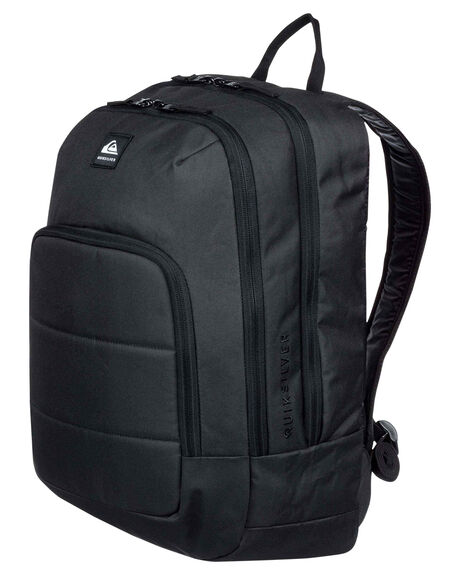 BLACK MENS ACCESSORIES QUIKSILVER BAGS + BACKPACKS - EQYBP03573-KVJ0