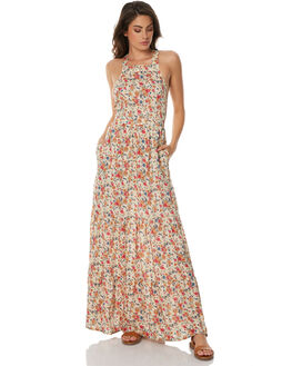 NATURAL WOMENS CLOTHING AUGUSTE DRESSES - AMG2-17663NAT