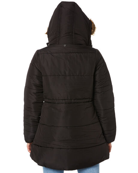 BLACK WOMENS CLOTHING ALL ABOUT EVE JACKETS - 6433079BLK