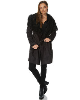BLACK WOMENS CLOTHING LILYA JACKETS - LJK02BLK