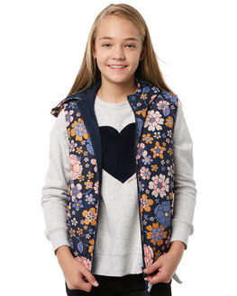 FLOWER POWER KIDS GIRLS EVES SISTER JUMPERS + JACKETS - 9910048PRNT