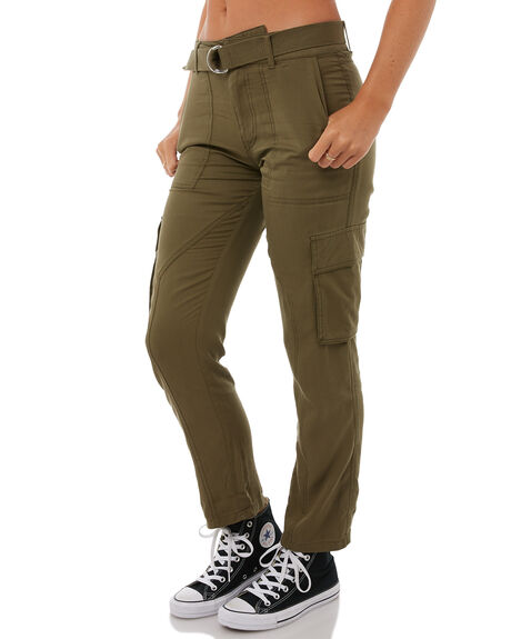 DARK CAMO WOMENS CLOTHING VOLCOM PANTS - B1111803DCA