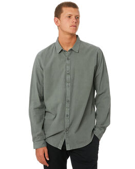 SAGE MENS CLOTHING RVCA SHIRTS - R181188SAGE
