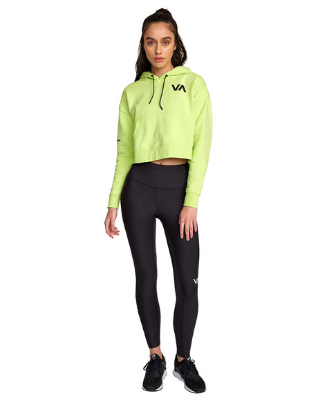 LIMEADE WOMENS CLOTHING RVCA ACTIVEWEAR - RV-R407884-LMD