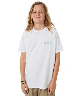 WHITE KIDS BOYS HURLEY TOPS - AO2237100