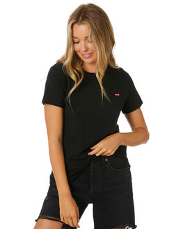 MINERAL BLACK WOMENS CLOTHING LEVI'S TEES - 39185-0008MNBLK
