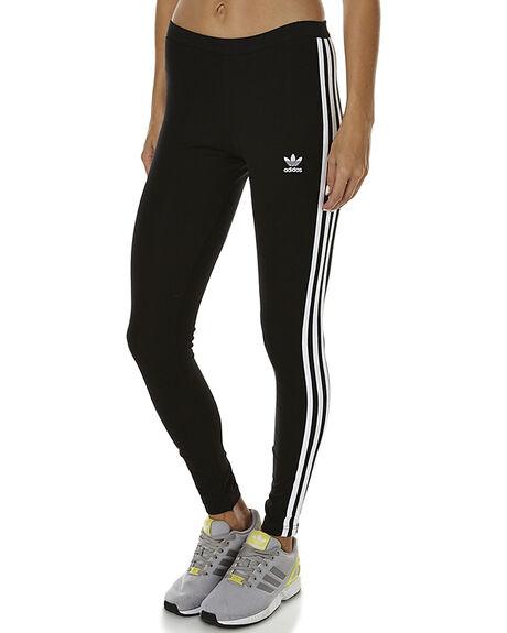 450373e9954137 Adidas Originals Three Stripe Womens Legging - Black   SurfStitch
