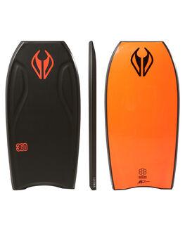 BLACK SURF BODYBOARDS NMD BODYBOARDS BOARDS - N18THREE43BLBLK